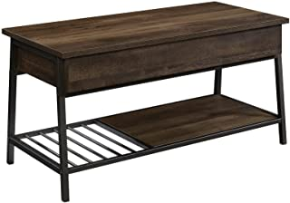 "Sauder North Avenue Lift-top Coffee Table, L: 37.01"" x W: 17.01"" x H: 18.07"", Smoked Oak Finish"