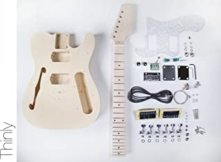 DIY Electric Guitar Kit TL Thinline Style Build Your Own Guitar Kit