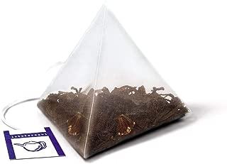 LA TETERA AZUL Té Rojo Premium Pu Erh Con Hibisco, Fresa, Kiwi Y Manzana. 60 Pirámides. Infusión Adelgazante. Bote De 60 Pirámides.