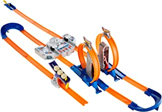Hot Wheels Track Builder Total Turbo Takeover Track Set...