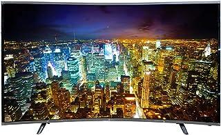 تلفزيون ذكي بنظام اندرويد ومنحني الشكل، ال اي دي، 4 كيه، الترا اتش دي، 55 انش من دانسات - DTC55BU