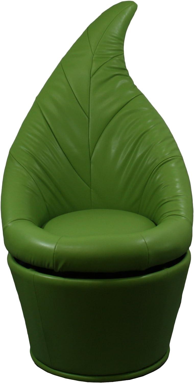 ORE International HB4480 Leaf Swivel Chair, 48-Inch, Green