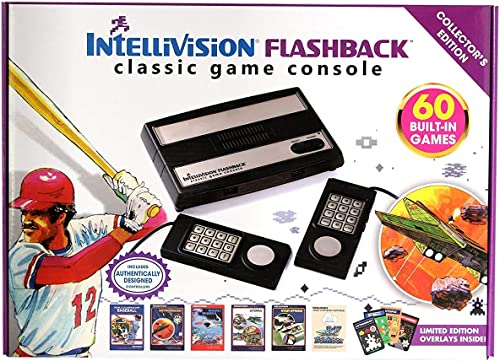 IntelliVision Flashback Classic Game Console Deluxe Collector's Edition by Intellivision Productions