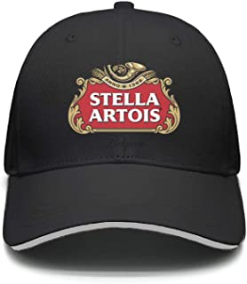 uter ewjrt Adjustable Stella-Artois-Beer-Logo- Baseball Hats Pattern Street Dancing Cap
