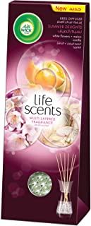 Air Wick Life Scents Reed Diffuser Summer Delights Multi-Layered Air Freshener, 30ml
