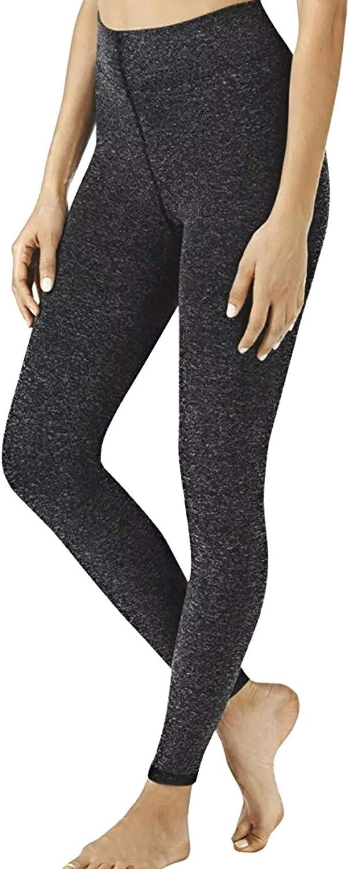 Warner's Ultra Soft Fleece Lined Footless Tights Size 2X/3X Black Heather