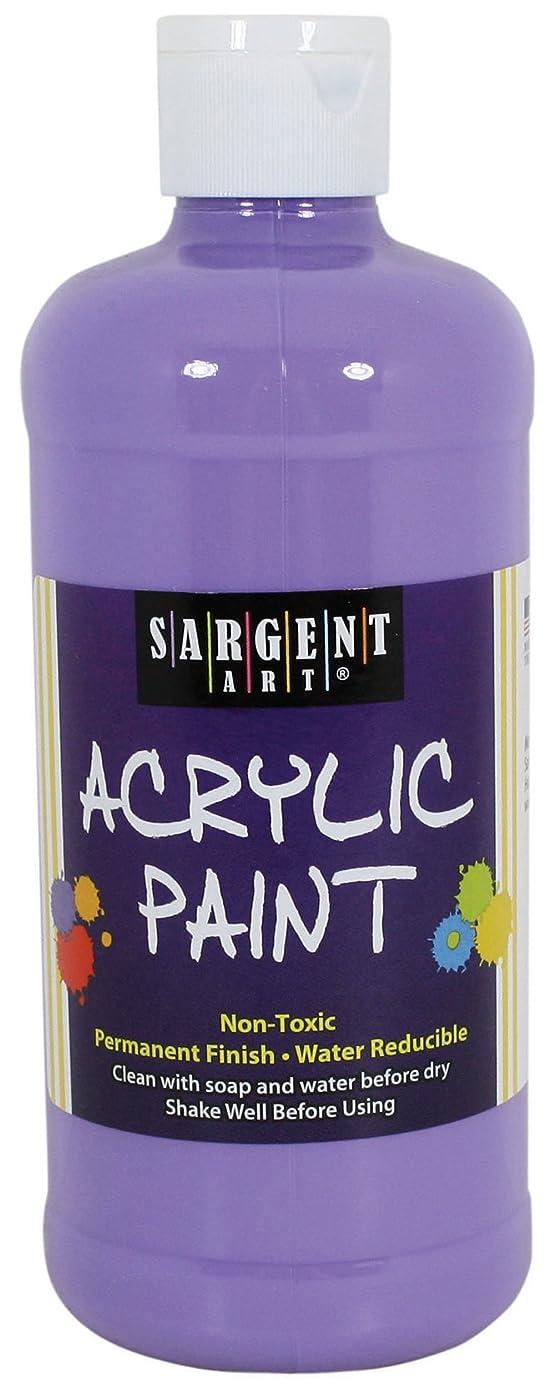 Sargent Art 24-2448 16-Ounce Acrylic Paint, Deep Lavender
