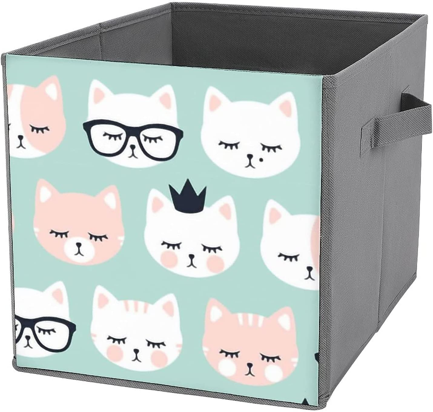 MMJUI Jumbo Scale cat Faces Al sold out. on Dark Folding Bins Sales of SALE items from new works Storage Co Mint