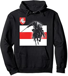 Armoiries du chevalier Biélorussie Pogonia Pogonya Pahonya BNR BNF Sweat à Capuche