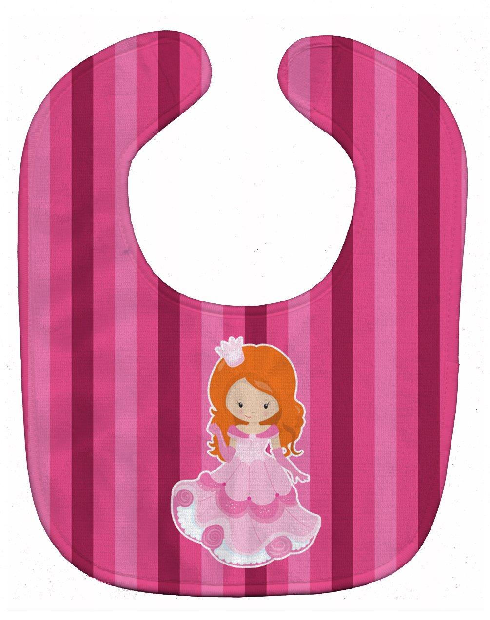 Caroline's Treasures BB9005BIB Princess Ginger Baby Bib, 10 x 13