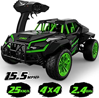 Gizmovine Remote Control Car for Boys 4WD Large Size RC Car Off Road High Speed Racing Car, 4x4 Remote Control Truck Monster Vehicle Hobby Kids RC Toys Car Gifts for Boys Adults