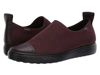 ECCO Soft 7 GTX Slip-On (Fig/Fig/Black) Women