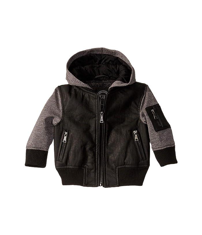 Urban Republic Kids Faux Leather Jacket (Infant/Toddler)