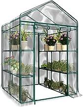 PVCビニール温室3段 特大【フラワースタンド・ガーデンラック・家庭菜園・温室】大型温室 ガーデンハウスカバー ガーデントマト育つ用 替えカバー