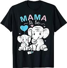 Mama To Be Elephant Baby Shower Gift Design Idea T-Shirt
