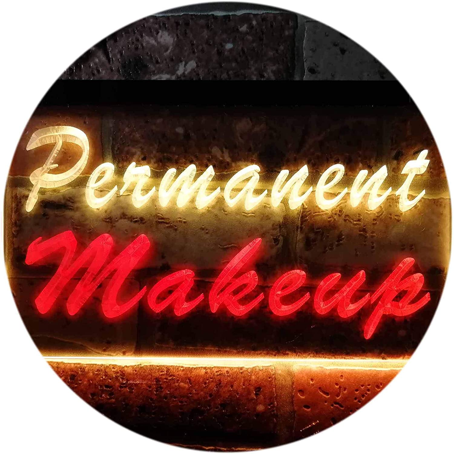 ADVPRO Permanent Makeup Beauty Salon 100% quality warranty! Dual LED Sign Color Re Animer and price revision Neon