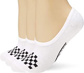 Canoodle Super No Show Socks - 3 Pair Pack - White/Black,...
