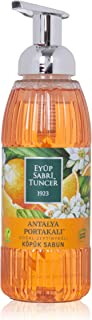 Eyüp Sabri Tuncer Doğal Zeytinyağlı Köpük Sabun Antalya Portakalı 500 Ml Pe 1 Paket (1 x 500 ml)