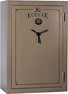 Kodiak K5940EX Gun Safe by Rhino Metals, 52 Long Guns & 8 Handguns, 677 lbs, 60 Minute Fire Protection, Electronic Lock, Patented Swing Out Gun Rack Compatible and Bonus Deluxe Door Organizer