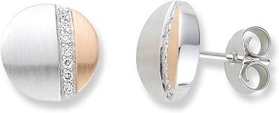 Miore - Pendientes de mujer de Oro bicolor (14K)