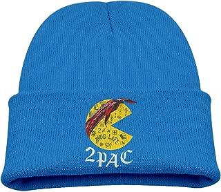 Big and Little Boys' Wool Hat Cool Beanie Winter 2pac Tupac Ski Hat KnitCap WinterCap