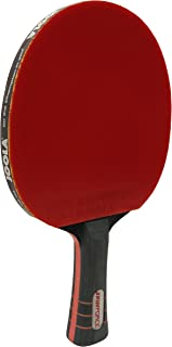 JOOLA Spinforce Professional Table Tennis Racket - Competition Grade Ping Pong Paddle with Flared Handle - ITTF Tournament Approved Preassembled Table Tennis Rubber and Blade