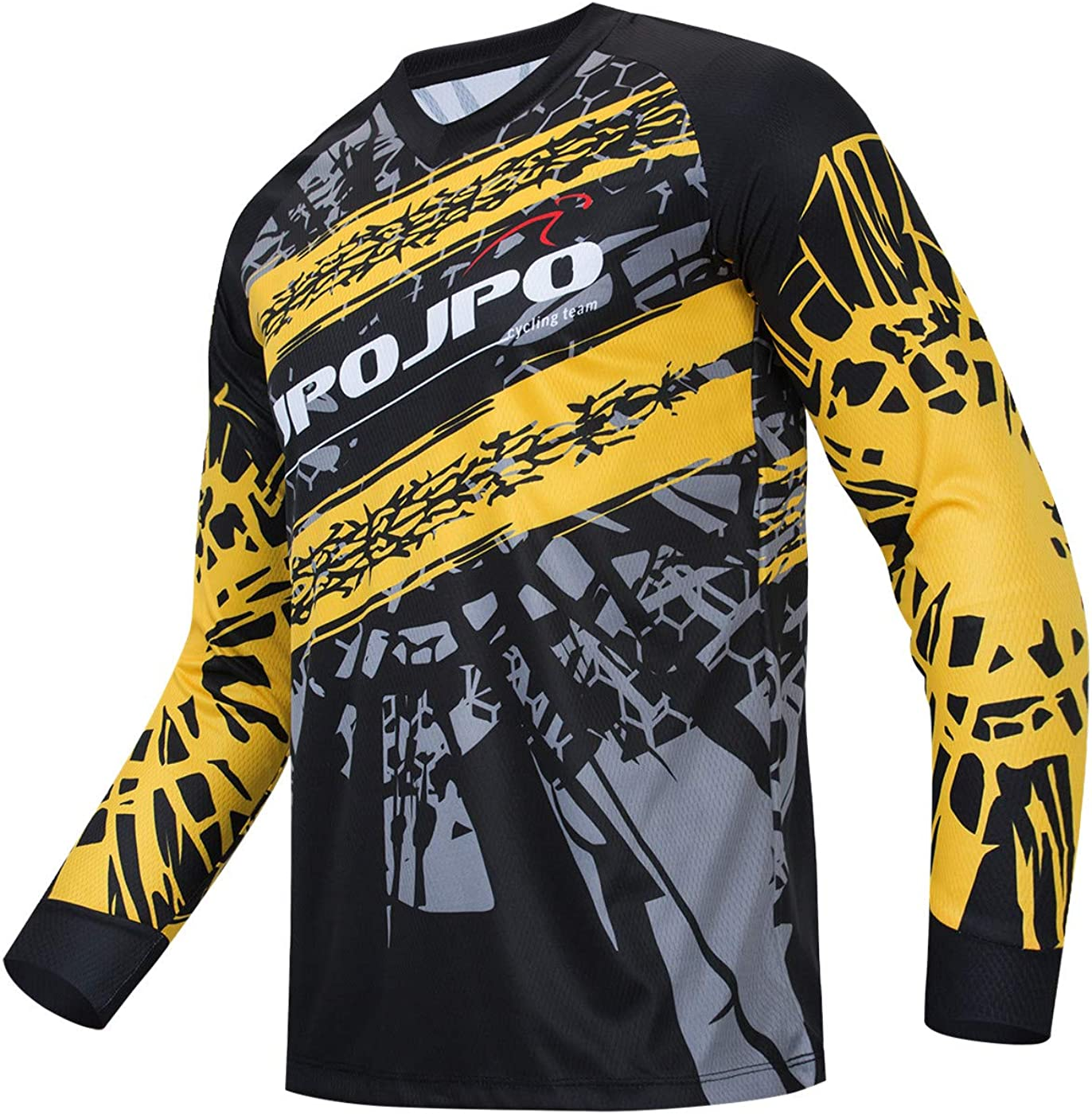 Hotlion Cycling Jersey Popular products Men Max 88% OFF Long Motocross Sleeve Shirt MTB Off-R