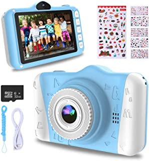 WOWGO Kids Digital Camera - 12MP Children's Camera with Large Screen for Boys and Girls, 1080P Rechargeable Electronic Cam...