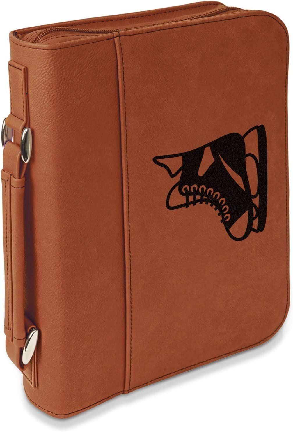 Hockey Leatherette Bible Industry No. 1 Max 81% OFF Cover with Large Handle Zipper Do -