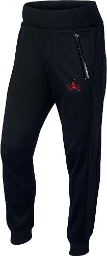 Nike pour Homme AJ XI Polaire Pant Noir Rouge 777496–010