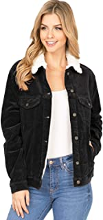 Women's Sherpa Lined or Classic Corduroy Jacket