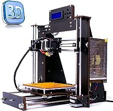Perfect-Office New DIY Printer i3 MK8 High Precision Self-Assembling Nozzle Desktop DIY 3D Printers with Free 1.75mm ABS/PLA Printer Filament,Print Size (200X200X180mm) (New I3)