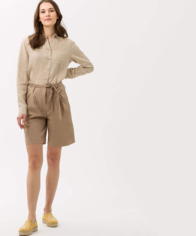 BRAX Women's Milla B Light Techno Cotton Trouser Brown (Toffee 54)