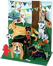 کارت تبریک صدا با کاغذ پاپ آپ دیدنی - سگ