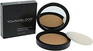 Youngblood Pressed Mineral Rice Setting Powder - Dark for Women - 0.28 oz