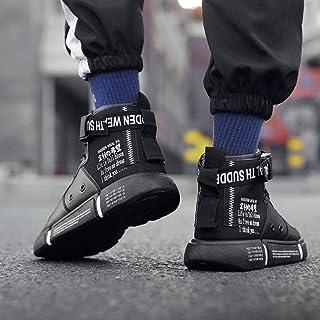 N\C Scarpe da uomo casual alte maree scarpe da uomo Trend All-match Canvas Sneakers