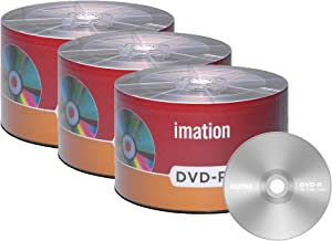 150 Pack Imation DVD-R 16X 4.7GB/120Min Logo Blank Media Recordable Movie Data Disc
