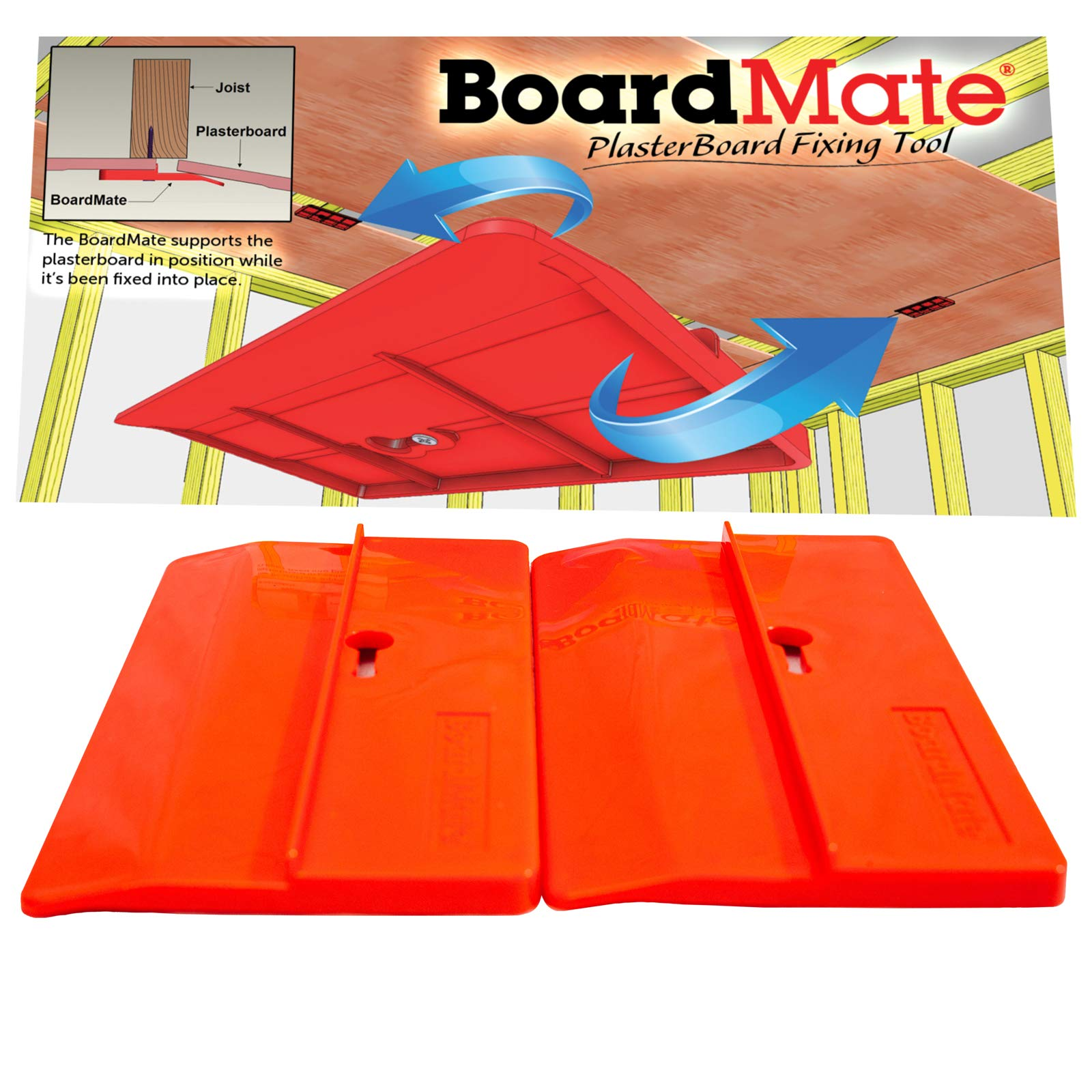 BoardMate Drywall Fitting Supports Installing