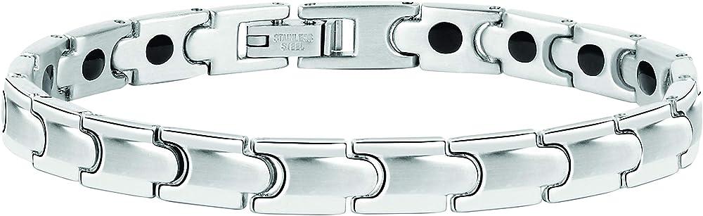 Sector no limits bracciale da uomo, collezione basic in acciaio SZS38