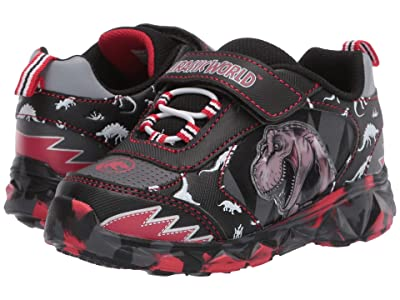Favorite Characters Jurassic Worldtm Lighted Athletic JPS301 (Toddler/Little Kid) (Black) Boy