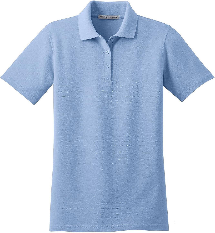 Port Authority L510 Ladies Stain-Resistant Polo - Light Blue - XXX-Large