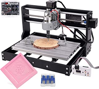 Upgrade CNC 3018 Pro GRBL Control DIY CNC Machine, 3 Axis PCB PVC Milling Engraving Machine,Wood Router Laser Engraving XY...