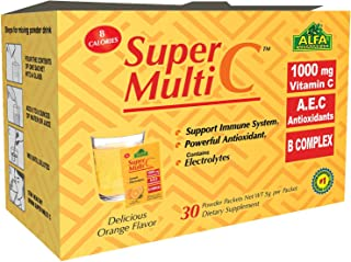 Super Multi C, Vitamin C Powder and Multivitamin Supplement by ALFA VITAMINS - Premium Quality Source of Nutrients, Minera...