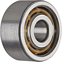 SKF 3200 ATN9 Double Row Ball Bearing, Converging Angle Design, ABEC 1 Precision, Open, Plastic Cage, Normal Clearance, 10mm Bore, 30mm OD, 14mm Width, 24000 rpm Maximum Rotational Speed, 968.0 pounds Static Load Capacity, 1712.00 pounds Dynamic Load Capacity