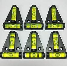 6 قطع RV T مستوى فقاعات فقاعات الصليب معيار من النوع T لآلات RVs Tripods آلات المقطورات الأثاث ضبط مستوى زاوية أفقي أداة ا...