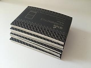 Idea regalo: Kit 10 blocchetti - dorso in gloo BIANCO OPACO - MY MININOTES