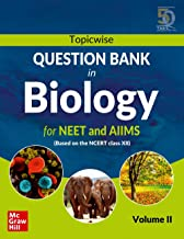 TOPICWISE QUESTION BANK IN BIOLOGY FOR NEET AND AIIMS CASS XII