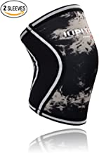 Elbow Sleeves (1 Pair) Support & Compression for Weightlifting, Powerlifting, Crossfit,Tennis, Basketball - 5mm Neoprene Sleeve Perfect for Both Men & Women (Large, Black)
