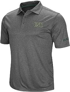 Mens Colorado State Rams Short Sleeve Polo Shirt