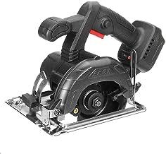 GJNVBDZSF Máquina cortadora de carpintería multifunción de 1000 W 11000 RPM, Sierra Circular eléctrica sin escobillas de 125 Mm, Sierra Circular inalámbrica de Litio